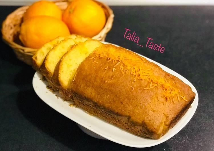 Cake à l'orange ?