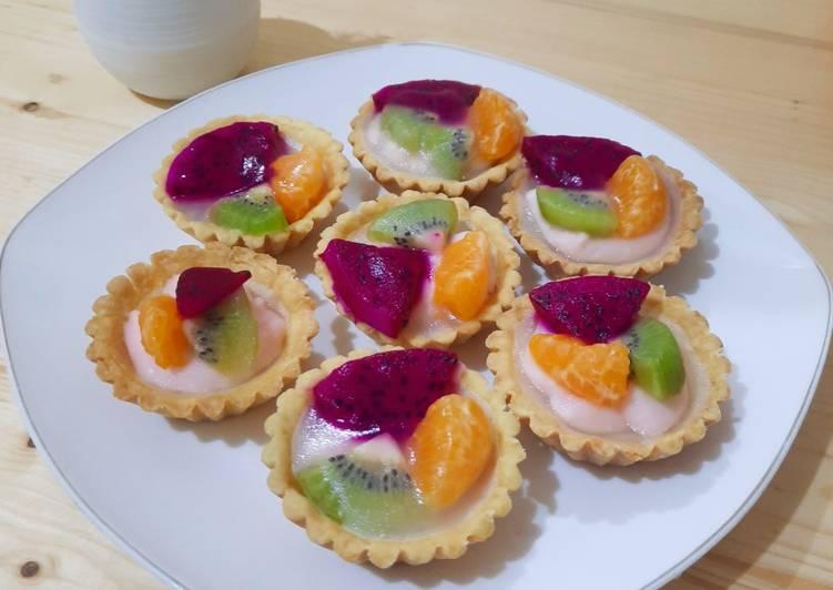 Resep Pie Buah Vla Yoghurt Bikin Ngiler