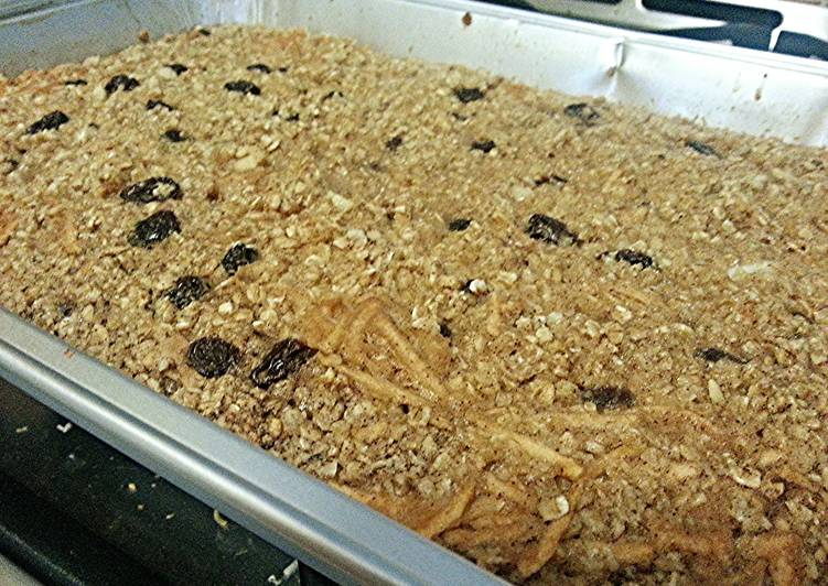 15 Minute Steps to Make Blends Leah's Baked Oatmeal