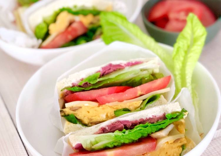 Simple Way to Prepare Ultimate Mintymama Club Sandwich