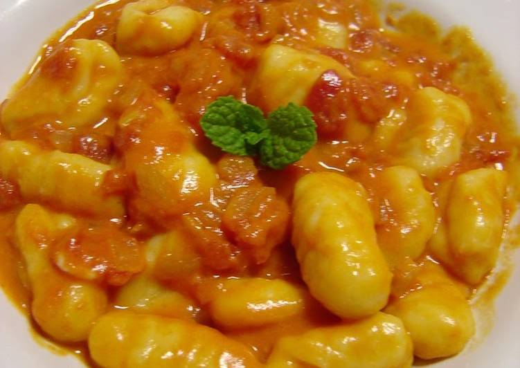 Tomato Cream Gnocchi, Choosing Fast Food That's Very good For You