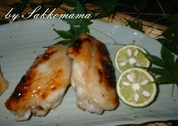 Shio-koji Chicken Wings
