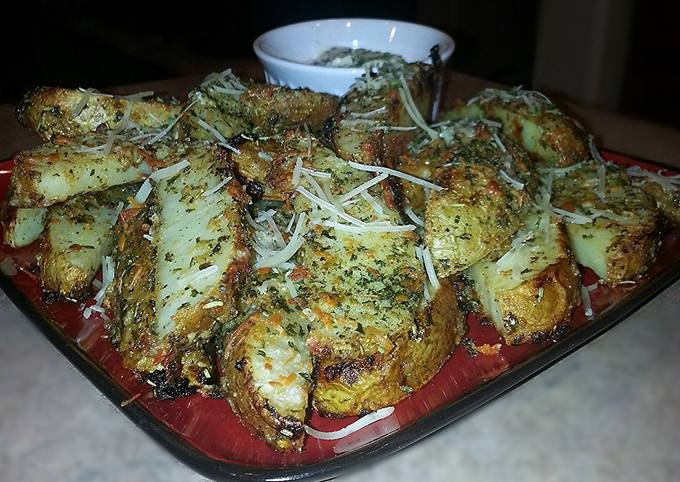 Mike's Garlic Parmesan Steak Fries & Aioli