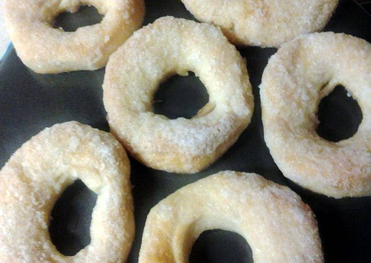 Recipe: Tasty sugar doughnuts