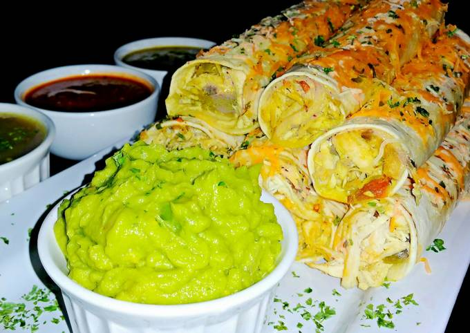 Mike's Green Chile Chicken Taquitos