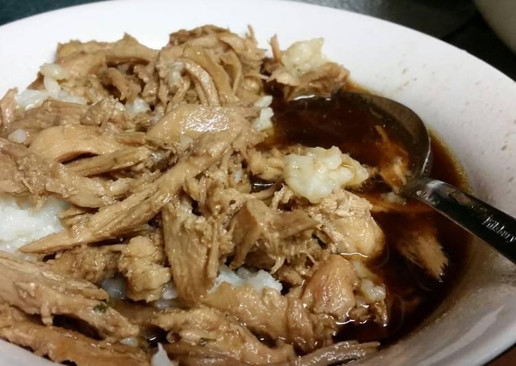 Teryaki chicken dinner