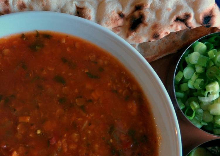 Recipe of Any-night-of-the-week Harira - Red Lentil Soup
