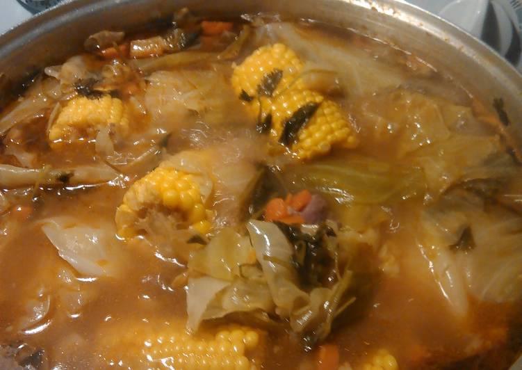 Recipe of Perfect Big pot of caldo.