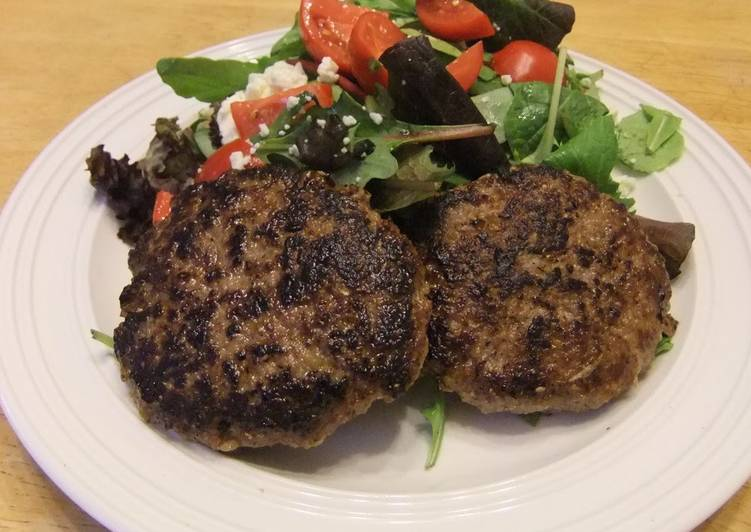 Recipe of Quick Kibbe – Lebanese Hamburger Steaks
