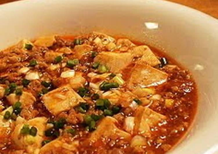 Basic Mapo Tofu, Choosing Fast Food That's Good For You