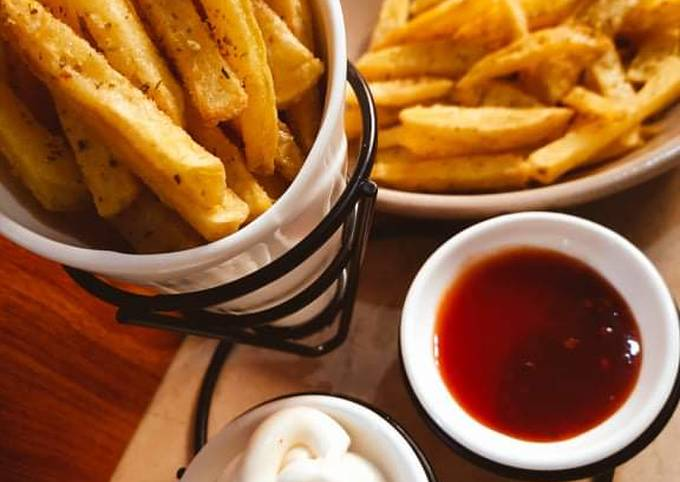 Mediterranean French Fries