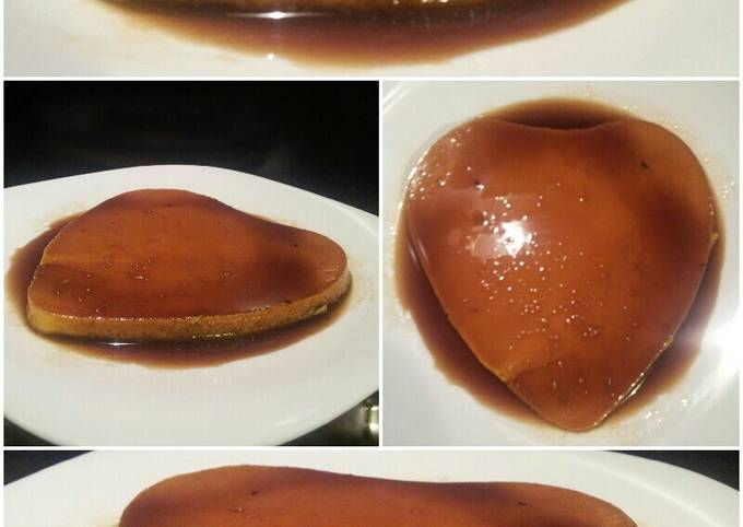 Easiest Way to Make Tasty AMIEs Special VALENTINEs Leche Flan