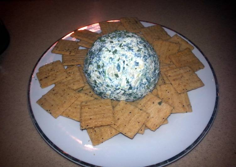 What are some Dinner Ideas Blends Spinach artichoke cheese ball