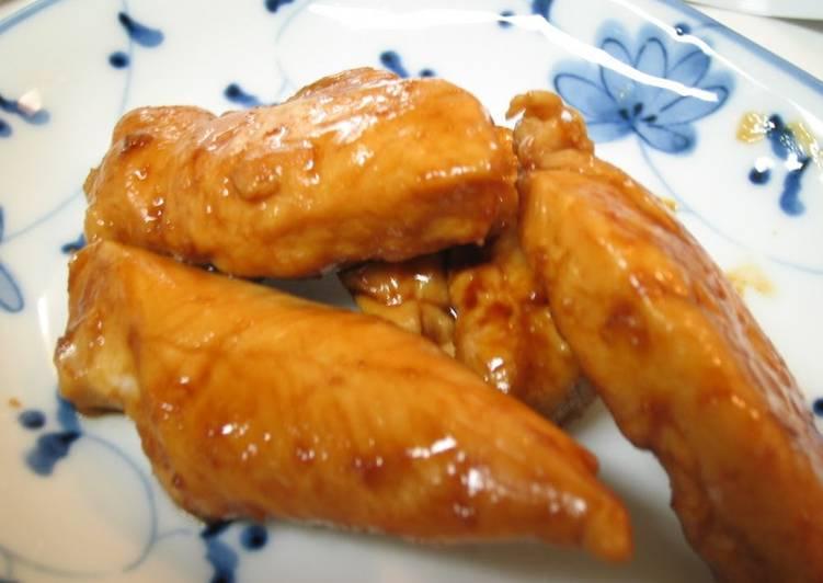 Recipe of Super Quick Homemade Easy Chicken Tender Teriyaki For Bento