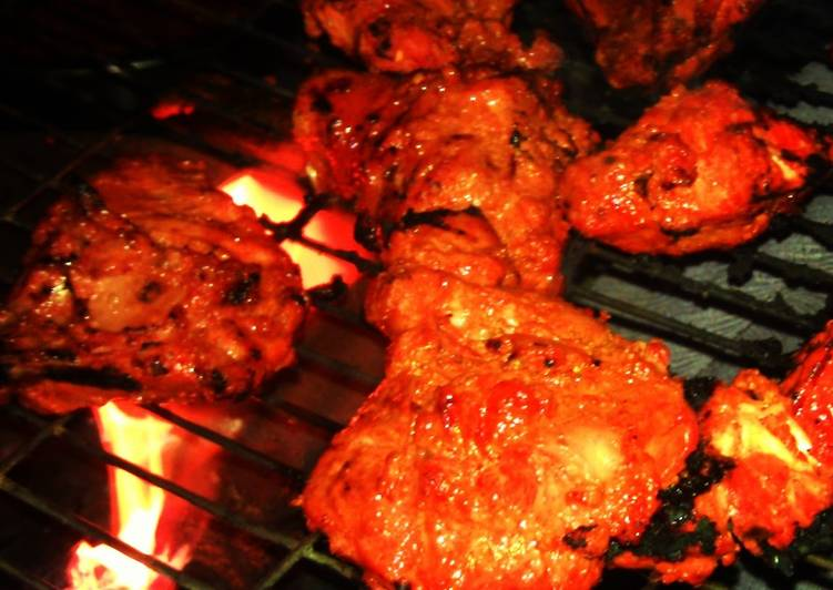 Spiced Indian Grilled Chicken