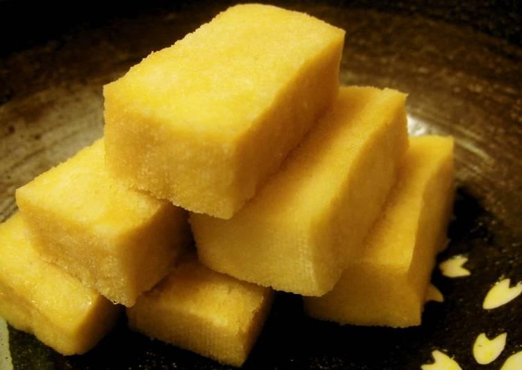 Recipe of Homemade Low-Sugar Soft and Sweet Koya Dofu