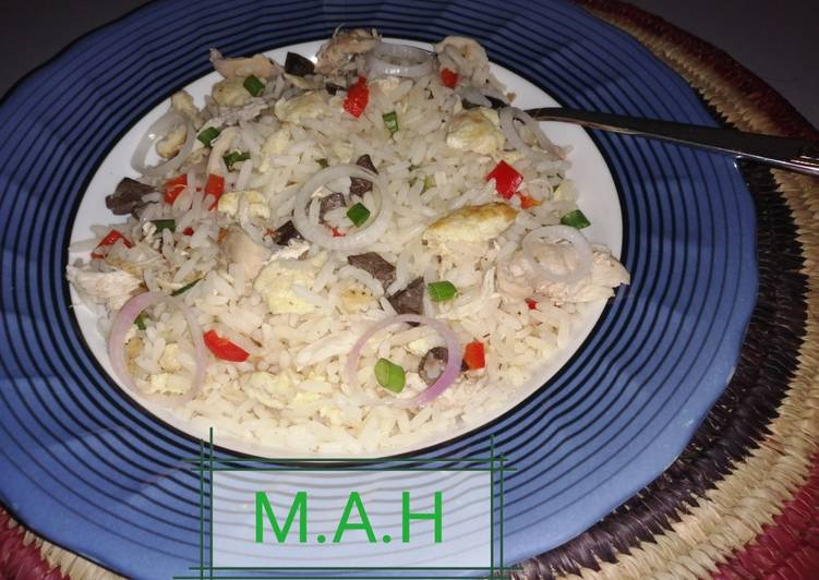 Recipe of Super Quick Homemade Chinese fried rice 1