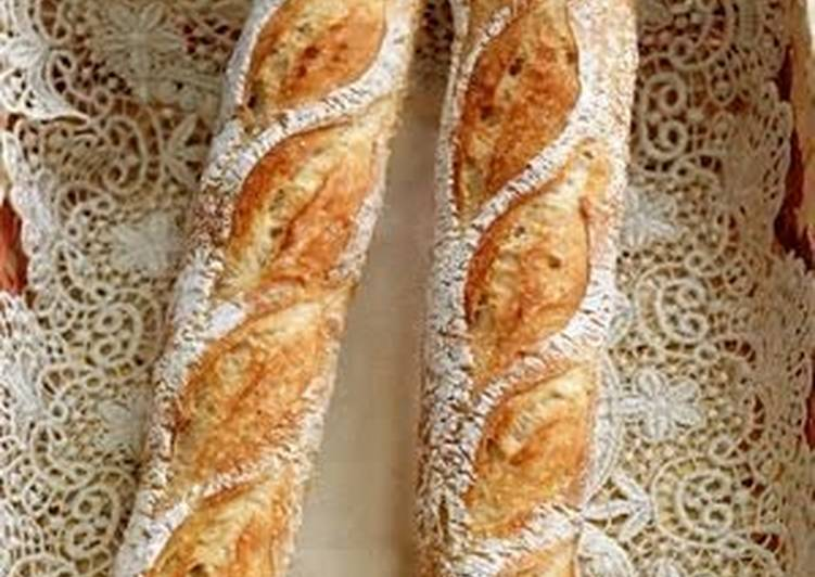 Simple Way to Prepare Favorite French Bread Made with Ingredients On Hand
