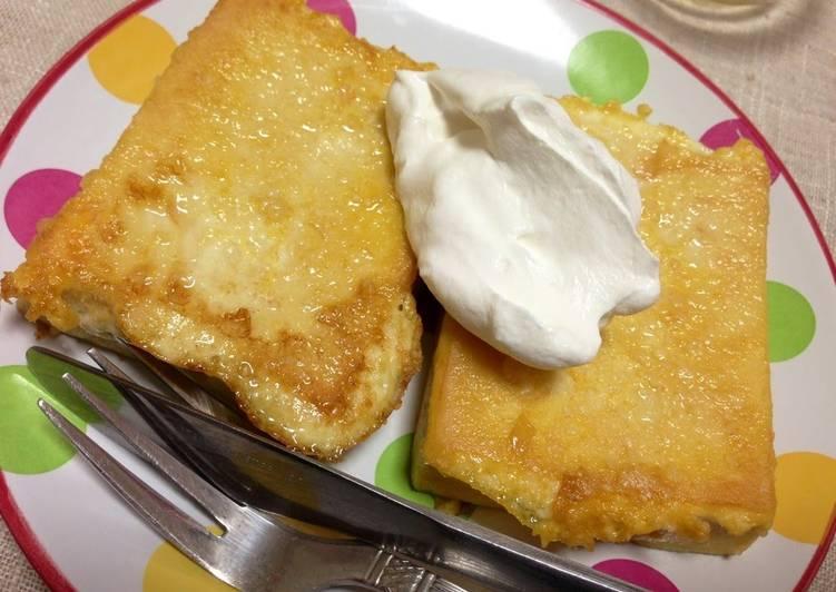 Cheesy French Toast with Koya Tofu (Low-Carb)