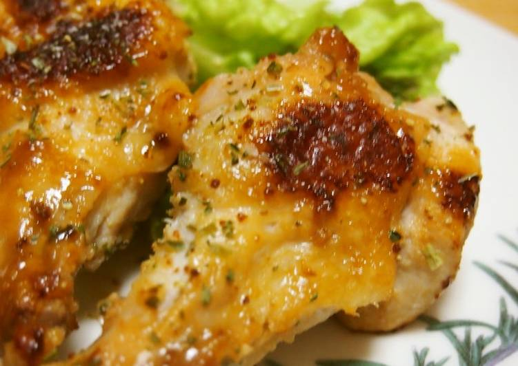 Baked Chicken with Garlic and Lemon