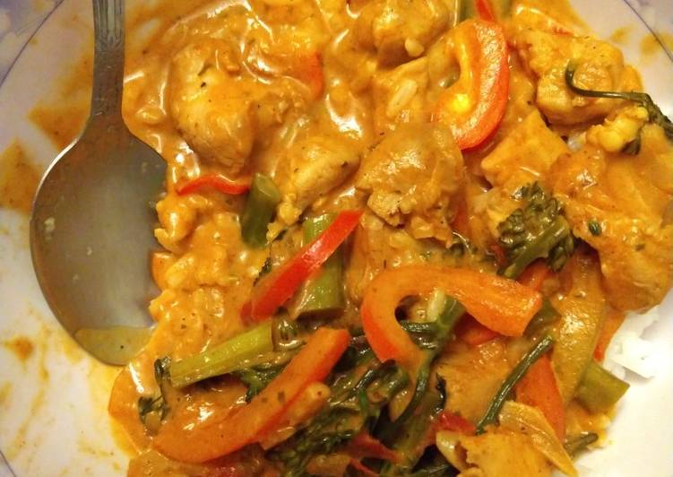 Yellow Curry (from paste)