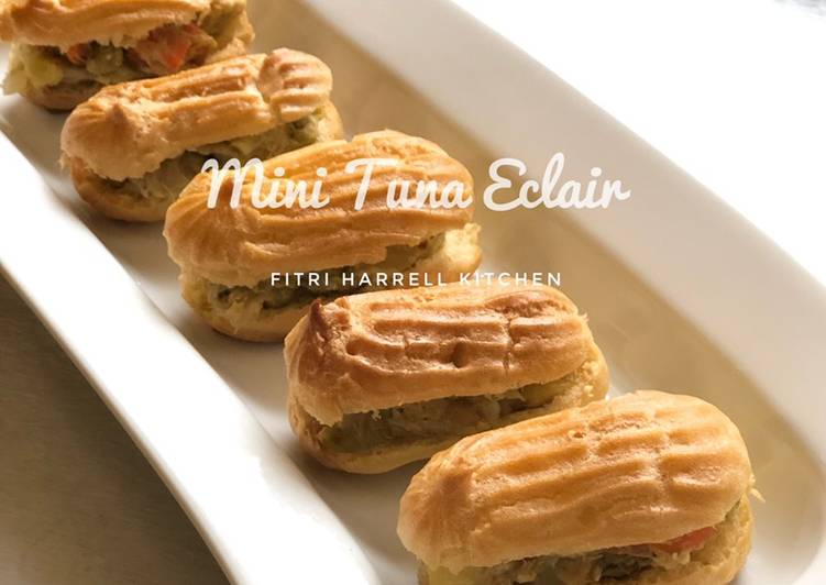 Resep Mini Tuna Eclair Oleh Fla Kitchen Cookpad