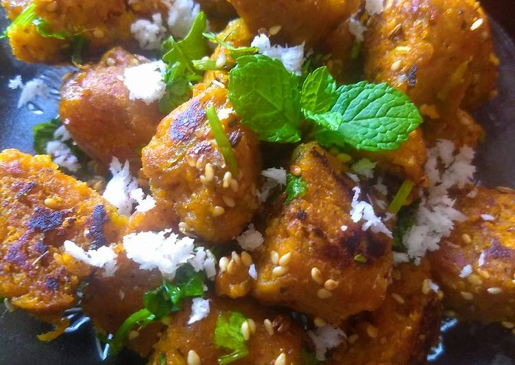 Recipe of Most Popular Herbs muthiya