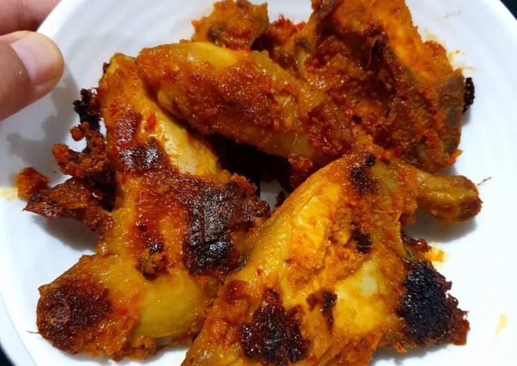 Ayam bakar padang teflon