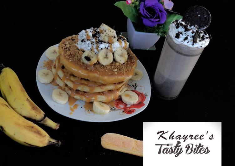 Banofee pancake