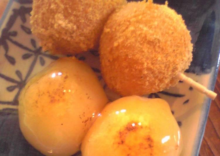 How to Make Speedy Skewered Okara Dumplings