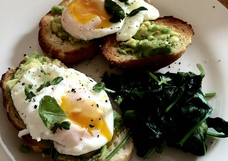 Step-by-Step Guide to Make Perfect Poached Eggs with Avocado and Spinach