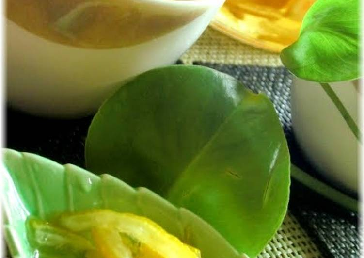 Step-by-Step Guide to Make Favorite For Health and Beauty!  My Mother's Safe and Easy Yuzu Tea Base