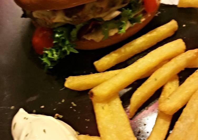 Bagel Kofte Burger