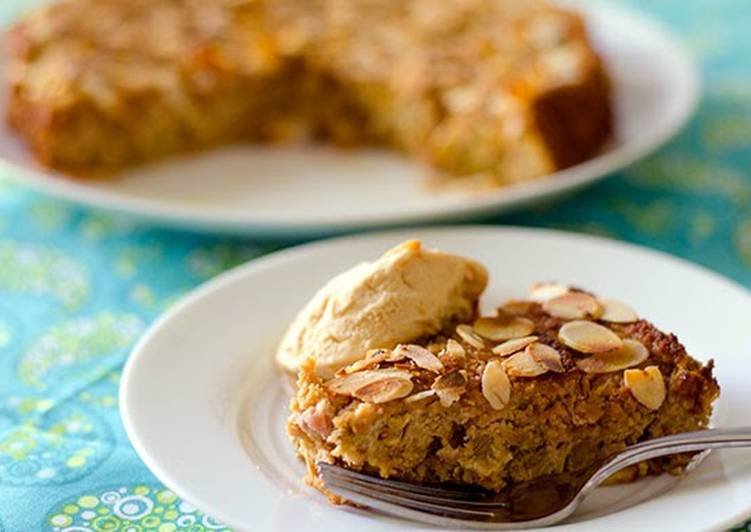 Step-by-Step Guide to Prepare Favorite Almond & Rhubarb Cake (Gluten-Free)