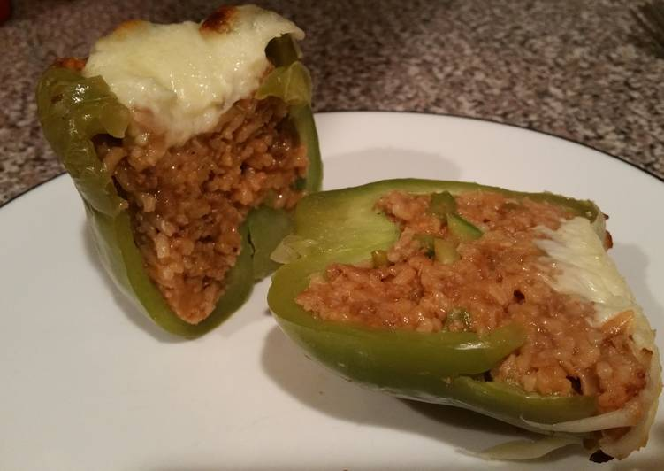 Stuffed Mexican Vegetarian Bell Peppers