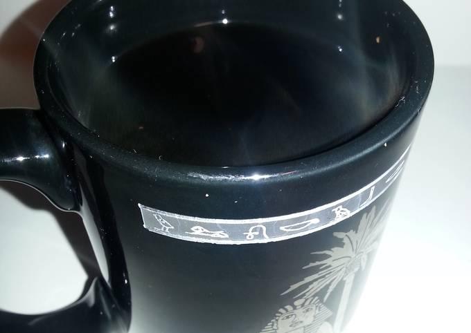 Instant cocoa coffee