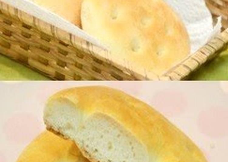 Soft & Fluffy Cake Flour Focaccia