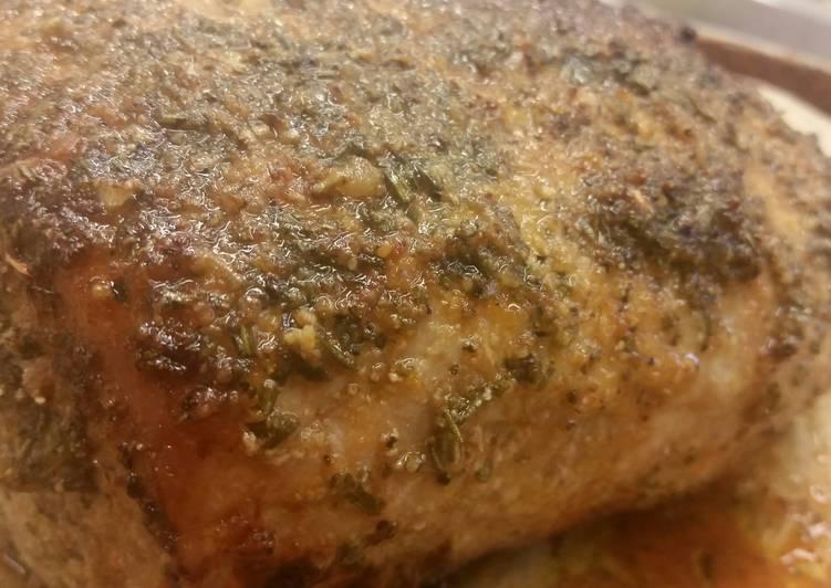 30 Minute Step-by-Step Guide to Make Winter Rosemary-Lemon Pork Loin