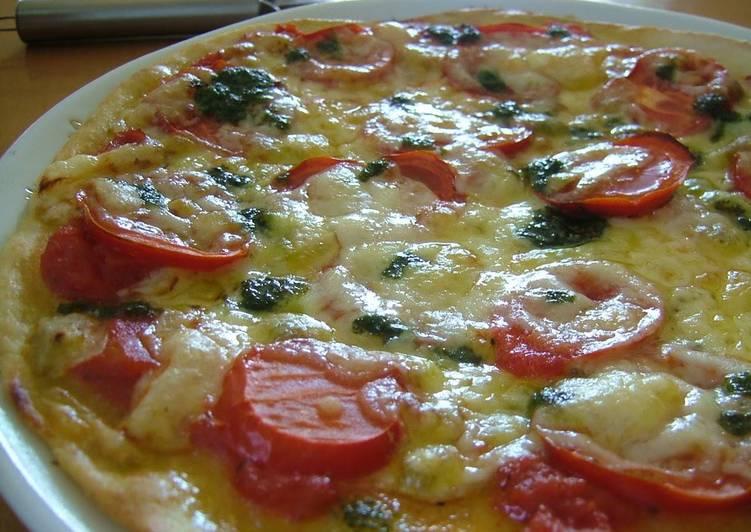 Steps to Make Super Quick Homemade Healthy Crispy Pizza with Okara