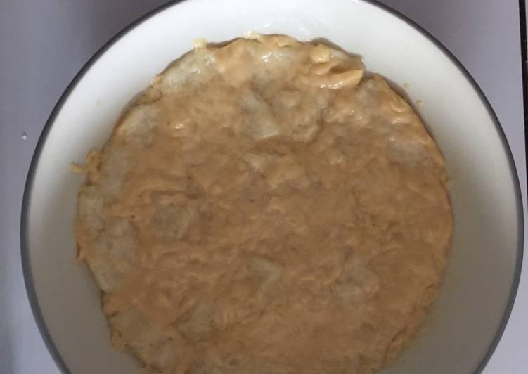 Mpasi roti tawar kukus keju 11bln