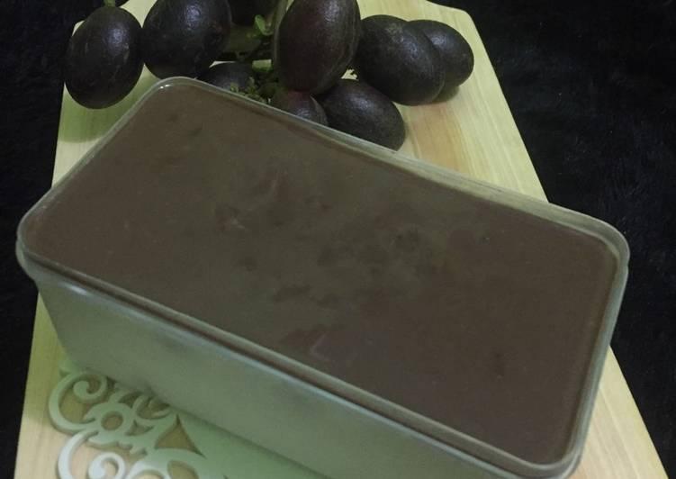 Pudding vanilla nata de coco #2