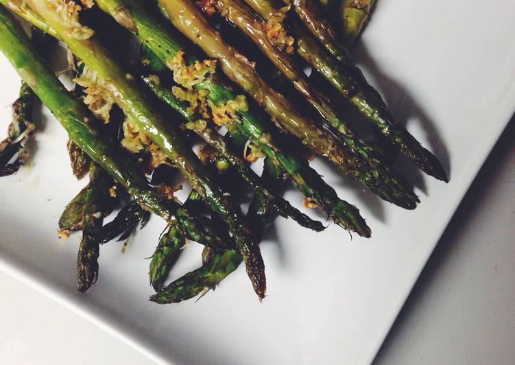 Recipe: Delicious Oven Roasted Asparagus