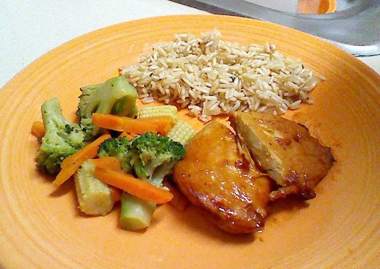 What is Dinner Easy Vegan Honey Chicken