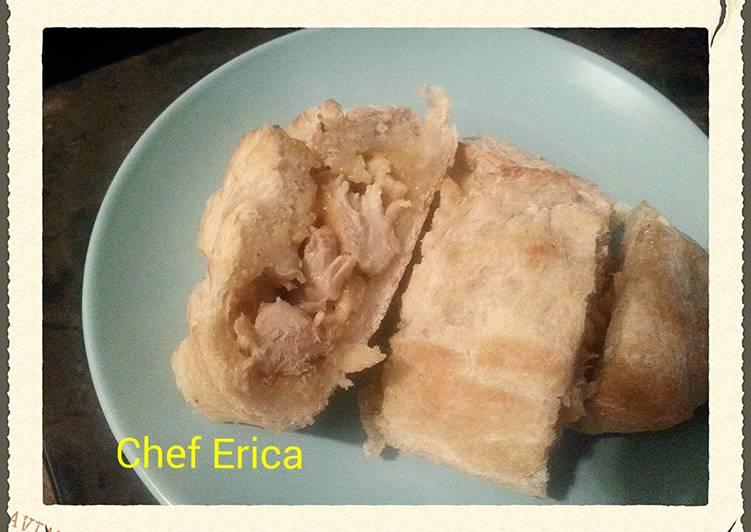 French bread stuffed