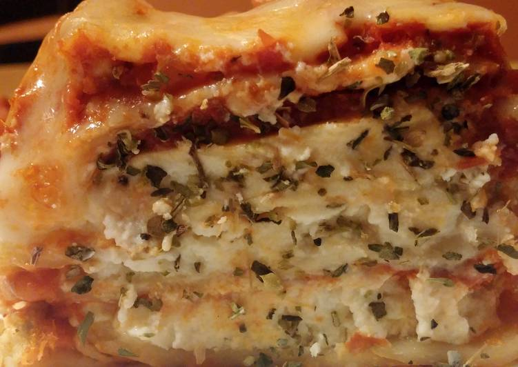 Easiest Way to Cook Appetizing Crockpot lasagne