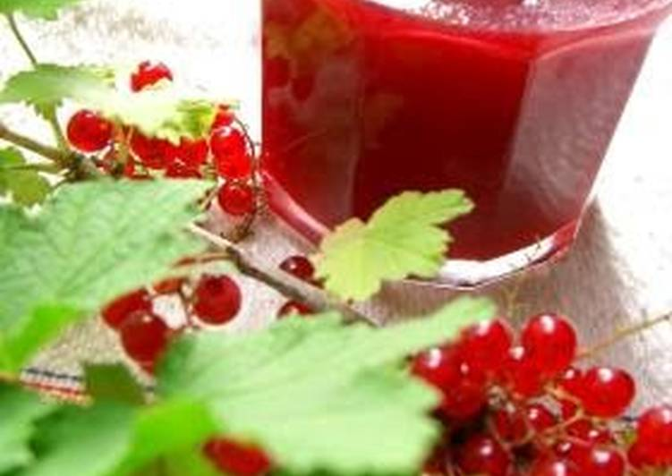 Easiest Way to Prepare Ultimate Red Currant Jam