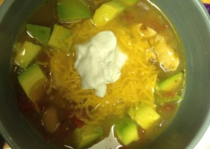MamaLocks Mexican Chicken Soup / Chili
