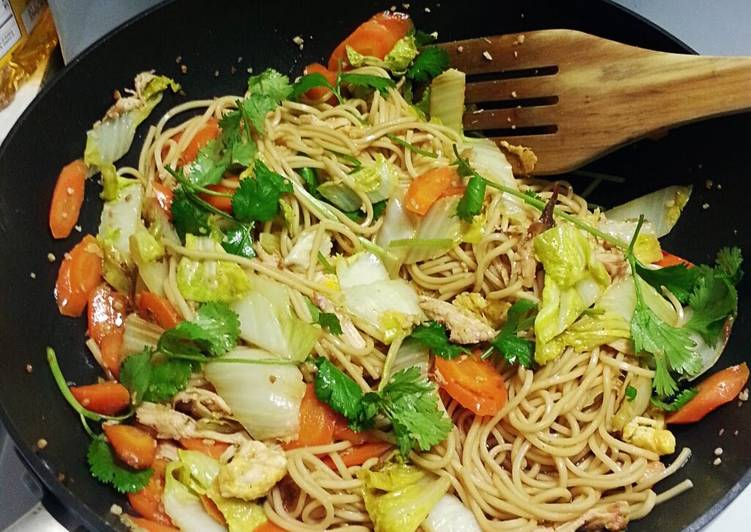 Easiest Way to Prepare Perfect Super Easy Chicken Chowmein