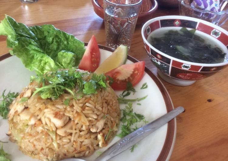 Riz cantonnais thaïlandais
