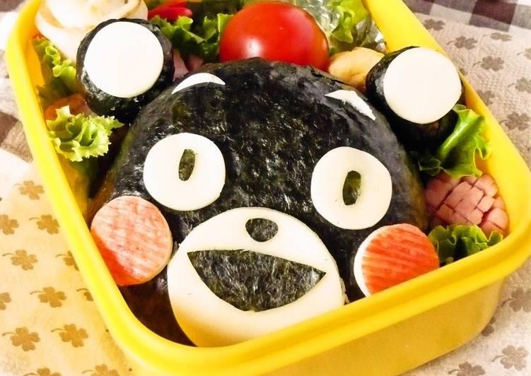 Character Bento ☆ Kumamon Rice Ball